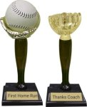 Baseball / Softball Trophy -- DB0-0AT-T Baseball Awards