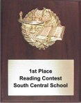 Economy Plaque with Relief -- LR0-0EC3 Basketball Trophies