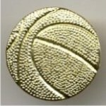 Basketball Chenille Pin --  PC0-1H00-A Basketball Trophies