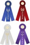Rosette Ribbon -- R32-8RB-X Car Awards