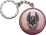 Rosewood Keychain -- LB2-0WH-T Car Awards