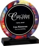 Watercolor Acrylic -- AR0-3T1-TS Corporate Executive Awards