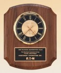 Walnut Wall Clock -- BC0-4828 Corporate Executive Awards