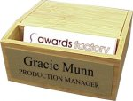 Business Card Holder -- 693-2302-C Corporate Executive Awards