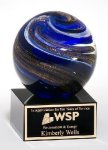 Art Glass Orb -- 210-423-S Crystal & Glass Awards