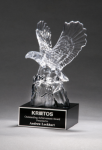 Crystal Eagle Award -- K90-4117-S Eagle Award Trophies