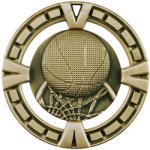 Basketball Medal -- BG0-1403 Engraved Medals and Dogtags