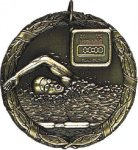 Swimming Medal -- XR0-1240 Engraved Medals and Dogtags