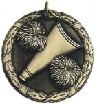 Cheer XR Medal -- XR0-1226 Engraved Medals and Dogtags