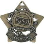 Track Star Medal -- XS0-1210-C Engraved Medals and Dogtags