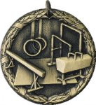 Gymnastics Medal -- XR0-1225 Engraved Medals and Dogtags