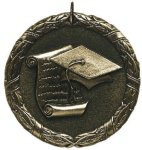 Scholastic Medal - XR0-1251 Engraved Medals and Dogtags