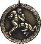 Football Medal -- XR0-1212 Engraved Medals and Dogtags
