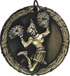 Cheerleading Medal -- XR0-1227-S Engraved Medals and Dogtags