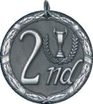 2nd Place Medal -- XR0-1282 Engraved Medals and Dogtags