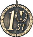 1st Place Medal -- XR0-1281 Engraved Medals and Dogtags