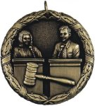 Debate XR Medal -- XR0-1253 Engraved Medals and Dogtags