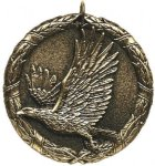 Eagle XR Medal -- XR0-1291-S Engraved Medals and Dogtags