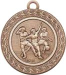 Soccer Medal, Fem -- G20-88-C Engraved Medals and Dogtags