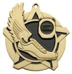 Track SS Medal -- 430-1160-S Engraved Medals and Dogtags
