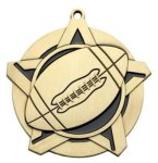 Football SS Medal -- 430-1140-S Engraved Medals and Dogtags