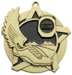 CrossCountry Medal -- 430-1166-S Engraved Medals and Dogtags