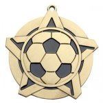 Soccer SS Medal -- 430-1170-S Engraved Medals and Dogtags