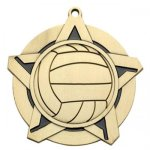 Volleyball Medal -- 433-7030-S Engraved Medals and Dogtags
