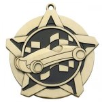 Pinewood Car Medal -- 430-1113 Engraved Medals and Dogtags
