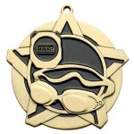 Swimming SS Medal -- 433-7040 Engraved Medals and Dogtags