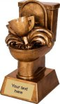 Toilet Resin Award -- TL0-3T01 Football Trophies