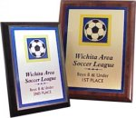 Printed Plaque -- AF0-0PRP Football Trophies