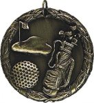 Golf XR Medal -- XR0-1228 Golf Trophies