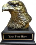Eagle Head Trophy -- 769-970-C Metal Trophies
