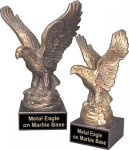 Large Eagle Trophy -- EG0-3LXB-S Metal Trophies