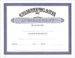 .Achievement Certificate -- 149-91A More Sports Trophies