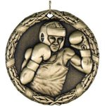 Boxing Medal. -- XR0-1261-S More Sports Trophies