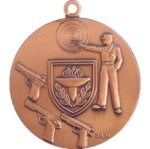 Shooting Medal -- I70-83-C More Sports Trophies