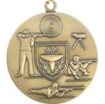 Shooting Medal -- I70-84-C More Sports Trophies
