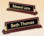 Wood Nameplate -- 580-48 Name Plate