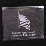 Paperweight Award -- AP0-1W5 Patriotic Awards