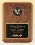 Eagle Walnut Plaque -- P20-429-TS Patriotic Awards