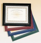 Certificate Holder -- C10-47X-TS Photo Plaques