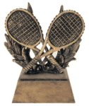 Tennis Icon Trophy -- RS0-1422 Resin Trophies