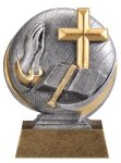 Faith Resin Icon -- MX1-3535 Resin Trophies