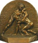 Wrestling Award -- 101-47-C Resin Trophies
