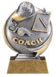 Coach Trophy -- MX1-3531 Resin Trophies