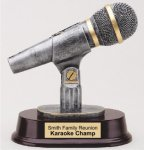 Microphone Award -- RF1-333-T Resin Trophies