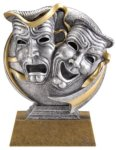 Drama Icon Award -- MX1-3532 Resin Trophies