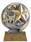 Star Icon Trophy -- MX1-3536 Resin Trophies